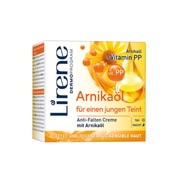 Anti-wrinkle cream with arnica oil