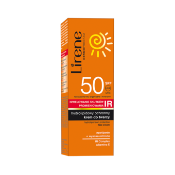 Hydrolipid sun protection face cream with IR protection