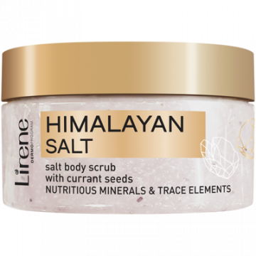 Himalayan salt scrub for body