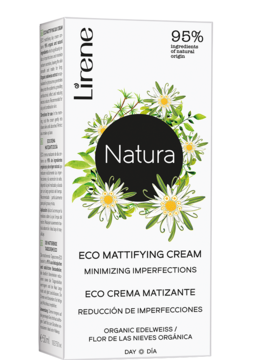 Eco mattifying day cream