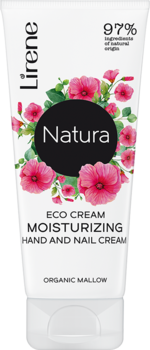 Eco cream moisturizing hand and nail cream