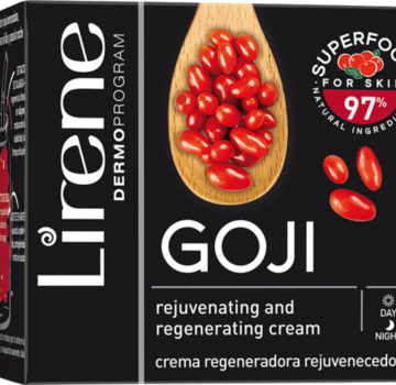 GOJI – Rejuvenating and regenerating cream with goji extract for day and night care